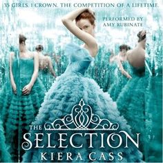 The Selection (The Selection, #1) by Kiera Cass, Amy Rubinate (Narrator) #YA #dystopia #IReadYA
