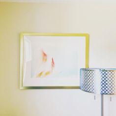 Metallic accents #silver #gold #smile_peace_love_creative #homedecor #photography #framebridge #clean