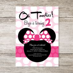 Hey, I found this really awesome Etsy listing at http://www.etsy.com/listing/123943299/minnie-mouse-birthday-party-invitation
