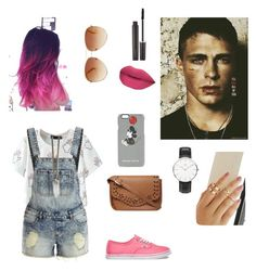 """Jackson Whittmore Teen Wolf"" by captain-america-334 ❤ liked on Polyvore featuring VILA, Vans, Dorothy Perkins, Markus Lupfer, Daniel Wellington, Givenchy, Laura Mercier and Tommy Hilfiger"