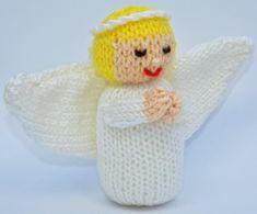 Christmas Angel Doll - Toy Knitting Pattern Knitting pattern by Joanna Marshall