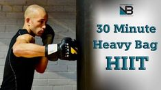 30 Minute Boxing Heavy Bag HIIT Workout - YouTube