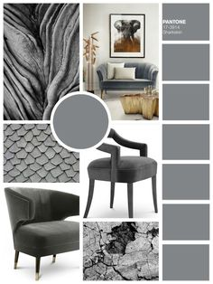 Multiple shades of grey combined with gold - is pure elegancy. The upholstery is finished with velvet for a cosy feeling.  More inspiration at ARTEIOS Concept Store in Baden-Baden #brabbu  #design  #luxurydesign #highdesign #luxuryliving #livingroom #art #interior #interiordesign #armchair #interiordesigners #lighting #luxurylivingroom #eclectic #eclecticinteriors #classicinterior #chandelier #luxuryinterior #luxury #homedecor #colors #moodboard #arteios #baden-baden #cosmopolitan…
