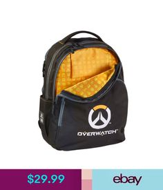 Backpacks, Bags & Briefcases Blizzcon Overwatch Backpack Adjustable Padded Men's School Bag Shoulder Bag #ebay #Fashion