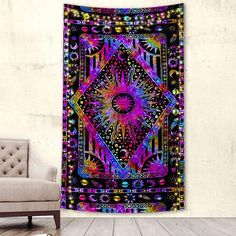 – Page 5 – Trippy Tapestry Space Tapestry, Trippy Tapestry, Colorful Tapestry, Tapestry Bedroom, Wall Tapestry, Psychedelic Pattern, Magical Jewelry, The Good Witch, Hippie Peace
