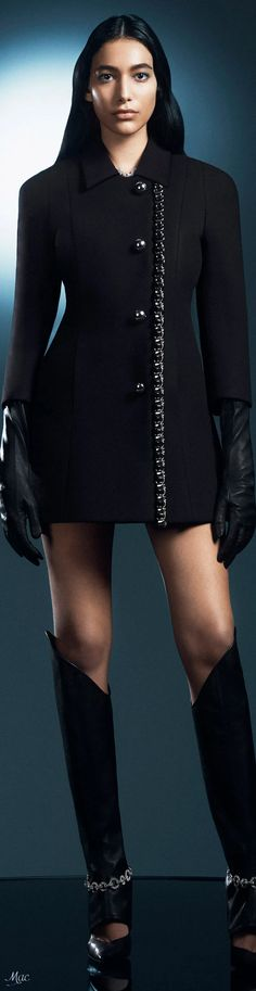 All Black Party, David Koma, Blazer Jacket, Black Silver, Ready To Wear, Fall Winter, Mini Skirts, Couture, How To Wear