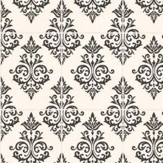 Graham & Brown 56 sq. ft. Pallade Black Wallpaper-17167 at The Home Depot
