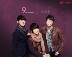 Dont miss JYJ New September Calendar Wallpaper HD Wallpaper. Get all of JYJ Exclusive dekstop background collections.