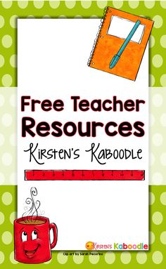 This board contains FREE teacher resources from Kirsten's Kaboodle. You'll find language arts products as well as social emotional activities for your elementary students.