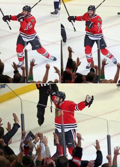 Now that's a first-NHL-goal-caliber celebration .