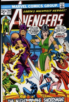 I have this issue of The Avengers.  This is a great issue.