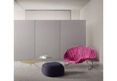 Paola Lenti, Ottoman, Chair, Furniture, Home Decor, Chaise Longue, Decoration Home, Room Decor, Home Furnishings