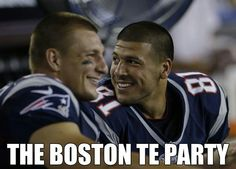 Gronk and hernandez