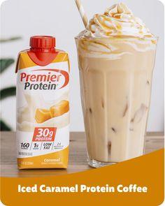 Yummy Drinks, Healthy Drinks, Healthy Snacks, Yummy Food, Healthy Eating, Protein Shake Recipes, Protein Shakes, Smoothie Recipes, Smoothies