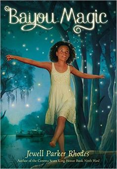 Bayou Magic by Jewell Parker Rhodes Grades 4-6. Maddy journeys from New Orleans to the bayou to spend the summer with her grandmother. Maddy finds that it is magic. She can call fireflies and see mermaids. The regional folklife comes alive. Maddy finds that she can solve a real catastrophe with her new powers. Enchanting! (There is a scene of a friend who is accidently hurt by his alcoholic father. There is also a death. Both are handled well in a straight forward way.)