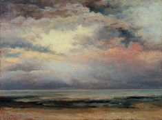 L'immensité by Gustave Courbet Date painted: 1869