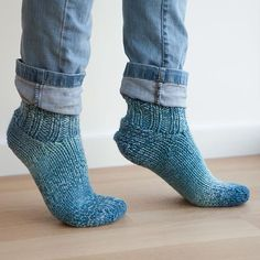 Chunky Slippers Pattern