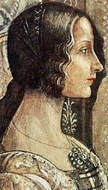 Donna Sancha of Aragon (1478 in Gaeta – 1506 in Naples), or Sancia of Aragon, was an illegitimate daughter of King Alfonso II of Naples In 1494, she was married to Gioffre Borgia. Sancha became friends with her sister-in-law Lucrezia, and allegedly had affairs with both of her husband Gioffre's older brothers: Juan Borgia, 2nd Duke of Gandia also known as Giovanni Borgia and Cesare Borgia. Her affair with Juan Borgia is sometimes said to be the reason for Cesare's alleged murder of Juan in…