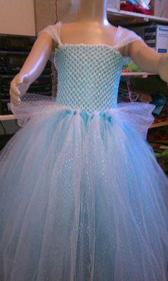 CInderella Style Tutu Dress/Costume by pocketfulofposiesbou, $35.00