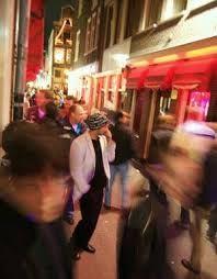 human trafficking red light district