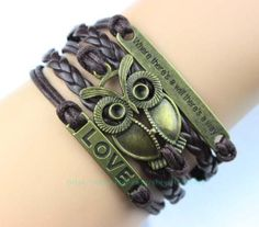 Charm bracelet where there is a will there is a way by Carlydiy, $4.99