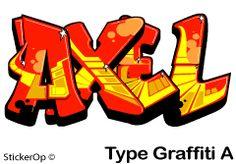 graffiti op paneel