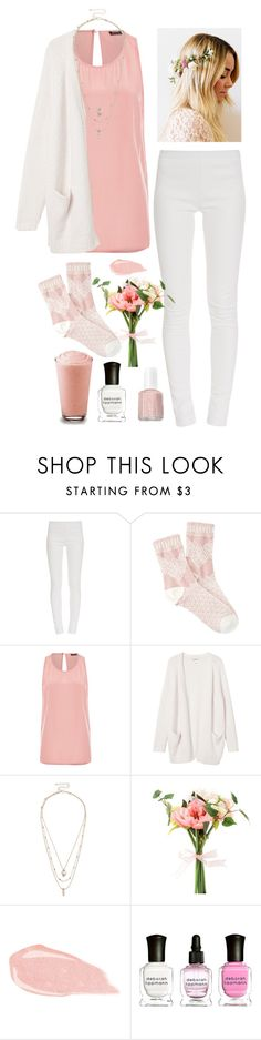 """Geen titel #371"" by dipske ❤ liked on Polyvore featuring Tamara Mellon, Forever 21, Monki, MANGO, Oasis, Deborah Lippmann and Essie"