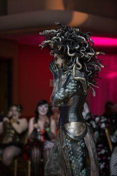 Medusa Costume 2014 by aranamuerta.deviantart.com on @DeviantArt