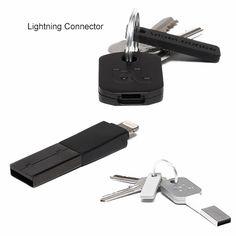 BlueLounge Kii portable keychain charger for iPad mini/iPhone 5