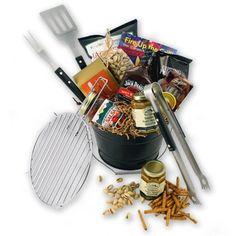 Grilling Gift Basket Goodie Basket, Raffle Baskets, Grill Basket, Grilling Gifts, Gift