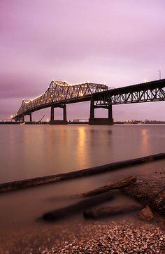 Mississippi River Bridge (I 10 bridge)