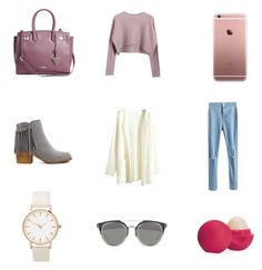 """Calming"" by torilindseyrosella on Polyvore featuring Chicnova Fashion, GUESS and Eos"