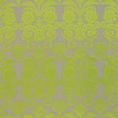 ombrione - lime fabric | Designers Guild