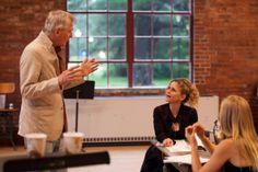 "John Patrick Shanley directs Kyra Sedgwick and Annika Boras in ""The Danish Widow."""