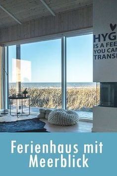 Denmark: Holiday house with sea view on the North Sea .- Dänemark: Ferienhaus mit Meerblick an der Nordsee Denmark: Holiday house with sea view on the North Sea - Visit Denmark, Denmark Travel, Europe Destinations, Holiday Destinations, Voyage Quotes, Places To Travel, Places To Go, Cottage, North Sea
