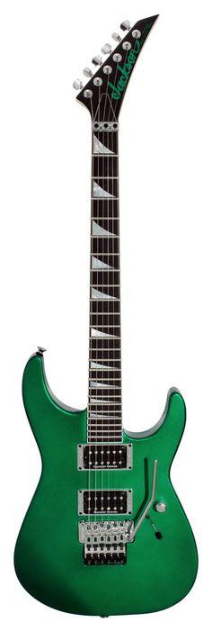Jackson Custom Shop SL2H Candy Green Metallic