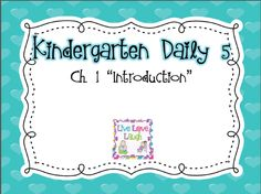 """KD5 Book Study: Chapter 1 """"Introduction"""""""