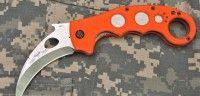 Limited Edition Orange Karambit Emerson Knives, Survival Tools, Garden Tools, Orange, Big, Yard Tools