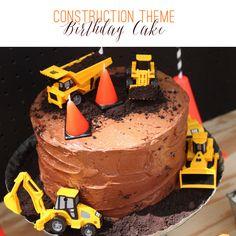 Construction Theme Birthday Cake | Ellen Jay Events on TheCelebrationShoppe.com
