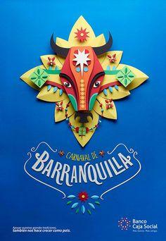 Fiestas y tradiciones colombianas BCS on Behance