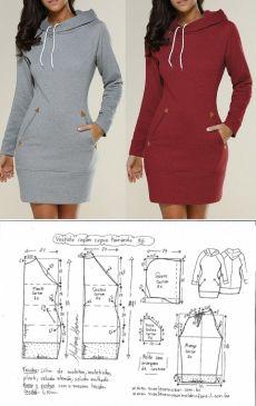 Mens Shirt Pattern, T Shirt Sewing Pattern, Hoodie Pattern, Plus Size Sewing Patterns, Skirt Patterns Sewing, African Dress Patterns, Peplum Coat, Corduroy Overall Dress, Clothing Hacks