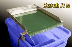 The CATCH-IT II WATER TABLE is designed for fine gold recovery  http://www.goldrushtradingpost.com/catch_it_ii