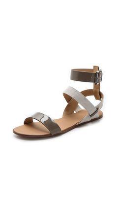 4eebaa5477dd Joe s Jeans Eryn Flat Sandals Stylish Sandals
