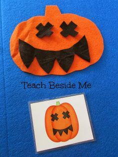 Pumpkin Flannel Board