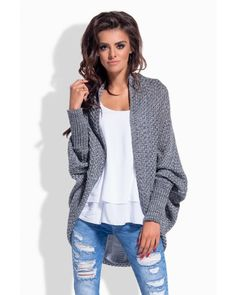 Tmavosivý sveter LS170
