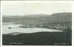 Nordland fylke Mo i Rana kommune oversikt brukt 1929 utg O. Skarbø