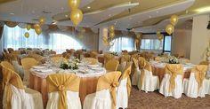 Arreglo de salon para boda globos - Imagui