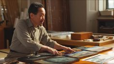 Unintentional ASMR 🖼️ Traditional Japanese Printmaking (brushing, explanations) - YouTube