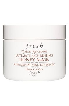 Fresh® 'Crème Ancienne' Ultimate Nourishing Honey Mask available at #Nordstrom. According to 1 review it made her skin: plumper, clearer,glowier, younger, fresher,firmer !