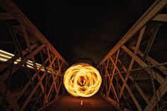 LightPaint Lab Photo update:  Ball of Fire at Como Bridge with Kevin Lynch for Tiger Beer  #lightpainting #photography #fire  Go to lightpaintlab.com for more